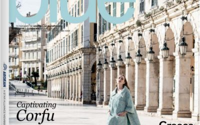 MiNiMiS TRAVEL WITH AEGEAN BLUE MAGAZINE!