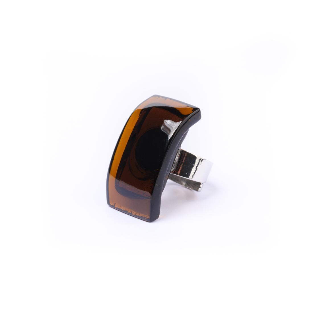 Δαχτυλίδι καφέ Koryfo