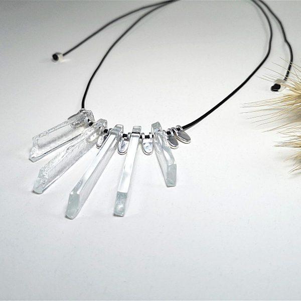 Unique long necklace